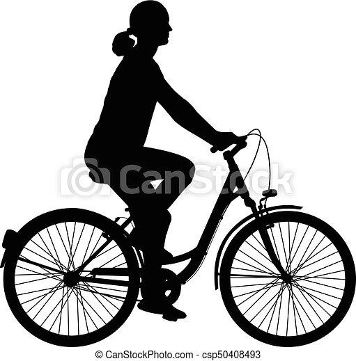 cykel kvinde