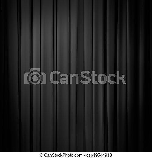 rideau noir ou fond tentures photographie de stock rechercher images et clipart csp19544913. Black Bedroom Furniture Sets. Home Design Ideas