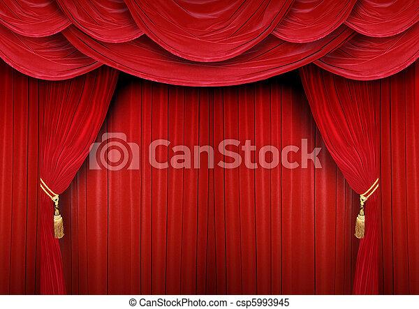 rideau, théâtre, fermé