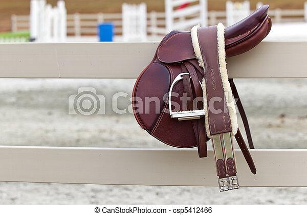 Riders Saddle - csp5412466