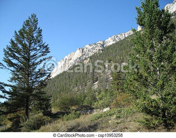 Ridge of the canyon wall - csp10953258