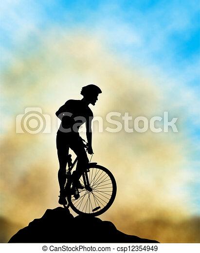 Ridge rider - csp12354949
