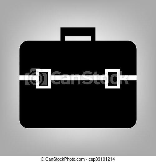 Riefcase flat icon - csp33101214