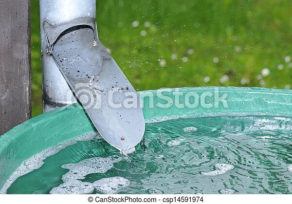 Culo de agua - csp14591974