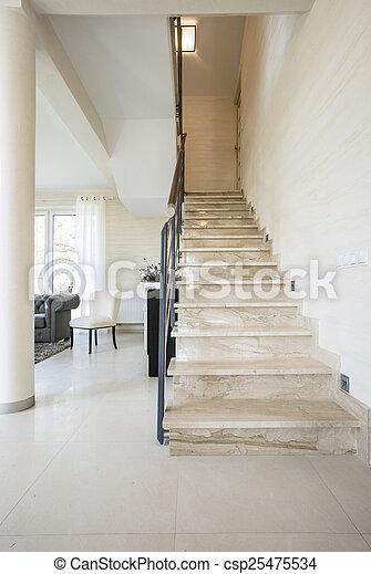 Riesig Innenseite Wohnung Treppe Treppe Riesig