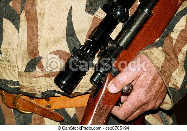 Hunters riffle - csp0705194
