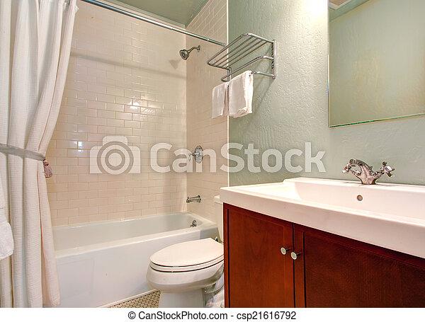 Latest rifilare bagno semplice interno piastrella parete - Arredo bagno semplice ...