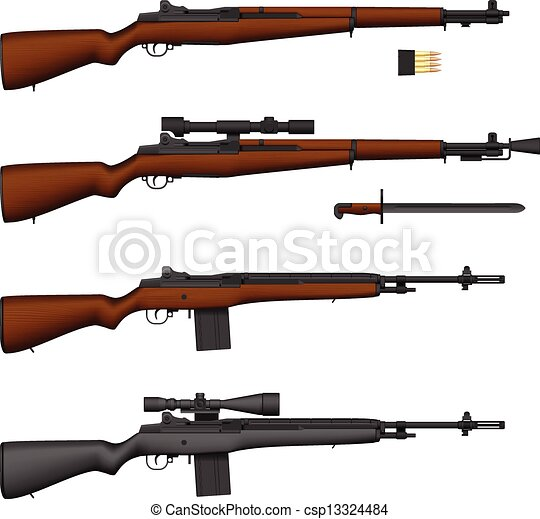 Rifle - csp13324484