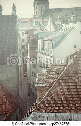 Riga Old City - csp27467875