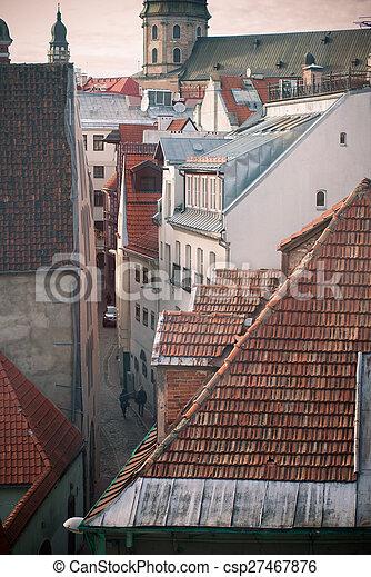 Riga Old City - csp27467876
