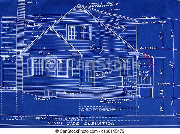 Right side detail blueprint - csp0145473