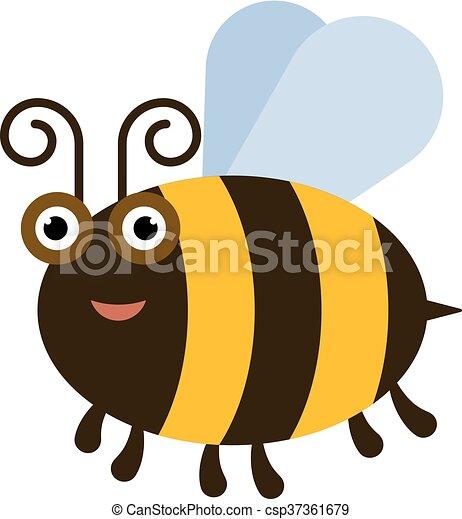 rigolote, abeille - csp37361679