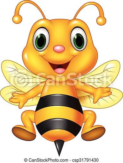 Bien-aimé Vecteurs illustration de miel, rigolote, seau, dessin animé  PA68