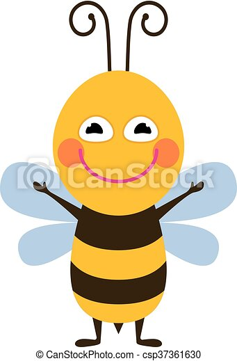 rigolote, abeille - csp37361630