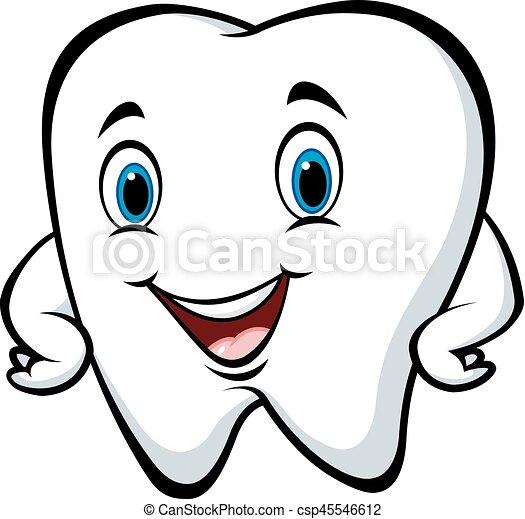 Rigolote dent poser dessin anim caract re rigolote - Dessin de dent ...