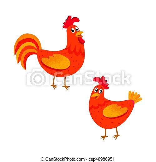 Relativ Vecteurs EPS de rigolote, somewhere, poulets, dépêcher, deux  NO98