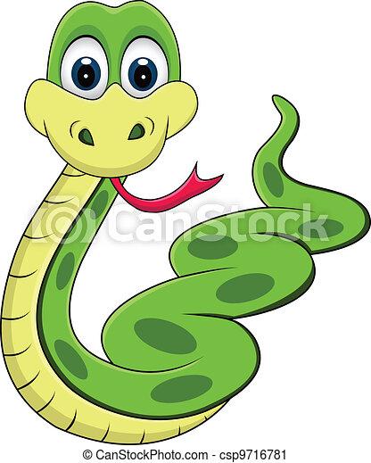 Dessin Animé Serpent rigolote, serpent, dessin animé. rigolote, dessin animé