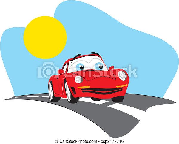 rigolote, voyage, voiture - csp2177716