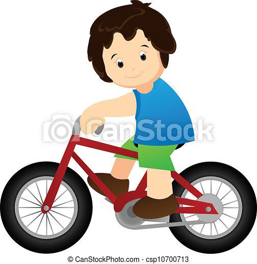 rijdende fiets - csp10700713