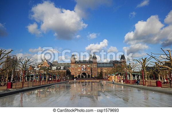 rijksmuseum in Amsterdam - csp1579693