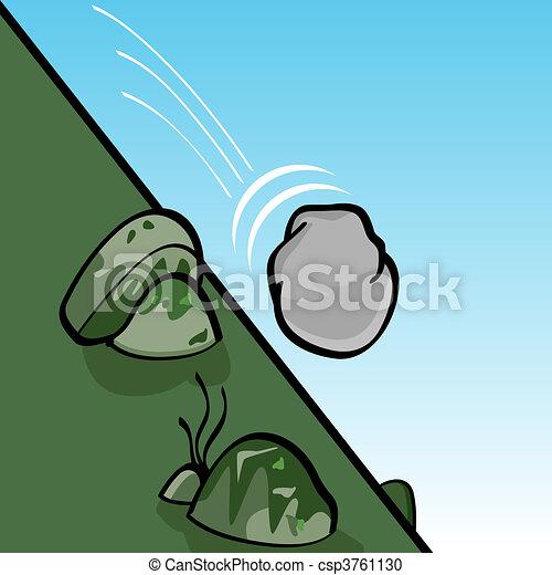 rimbombante, pietra - csp3761130