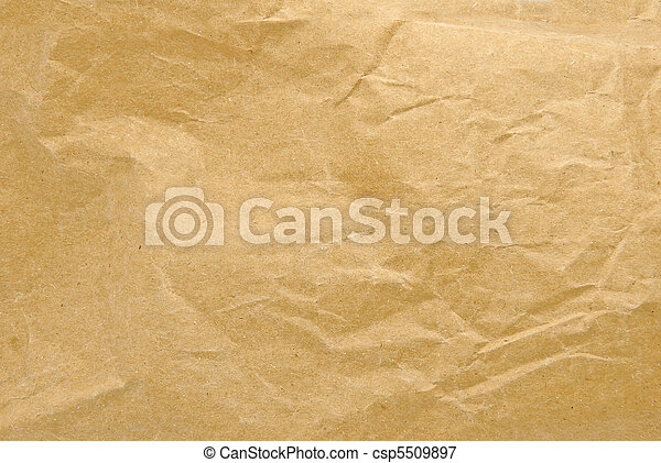 rimpelig, papier - csp5509897