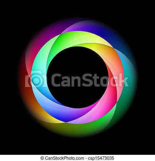 ring., spirál, színes - csp15473035