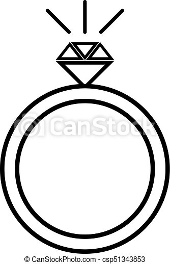 ring with diamond vector diamond engagement ring icon clipart rh canstockphoto ca diamond clip art vector free