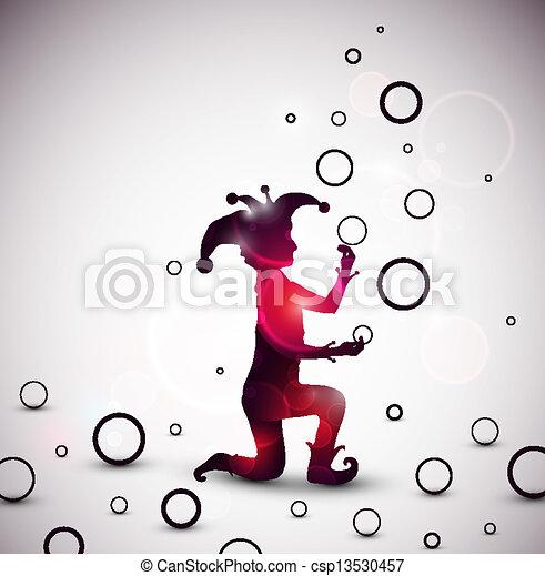 ringe, spaßmacher, jonglieren - csp13530457