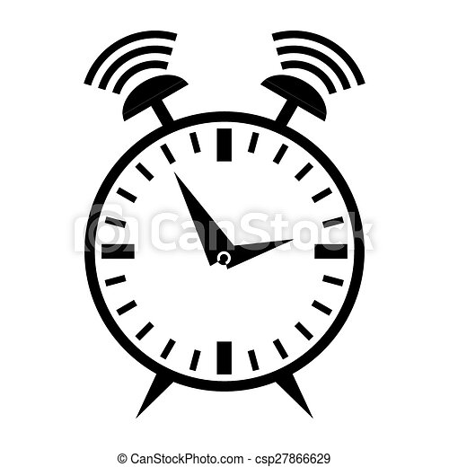 ringing alarm clock vector illustration search clipart drawings rh canstockphoto com