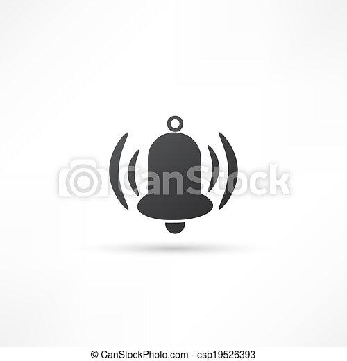 Ringing bell icon - csp19526393