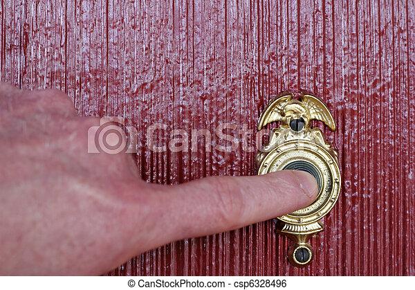 Ringing Doorbell - csp6328496