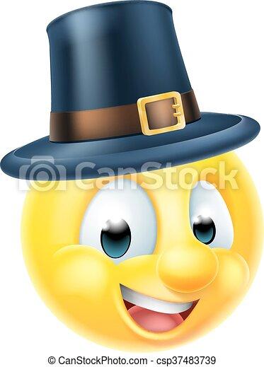 Ringraziamento emoji emoticon il portare ringraziamento