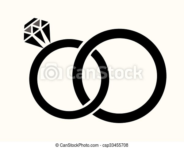 Vector wedding rings vector clipart Search Illustration Drawings