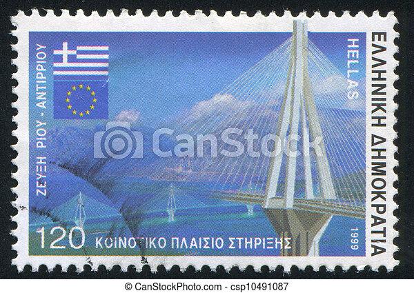 Rio Antirrio bridge - csp10491087