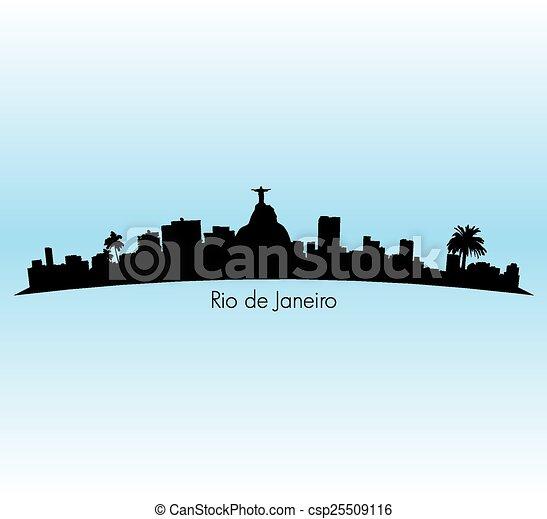 Rio De Janeiro - csp25509116