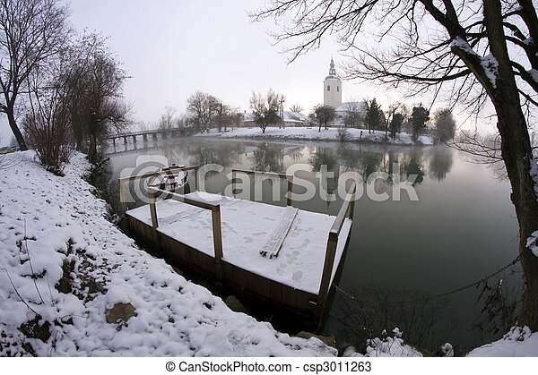 rio, inverno - csp3011263