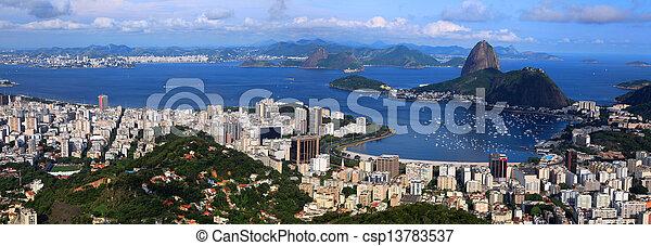 Rio panorama - csp13783537