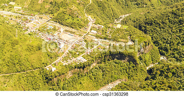 Rio Verde Aerial Panorama - csp31363298