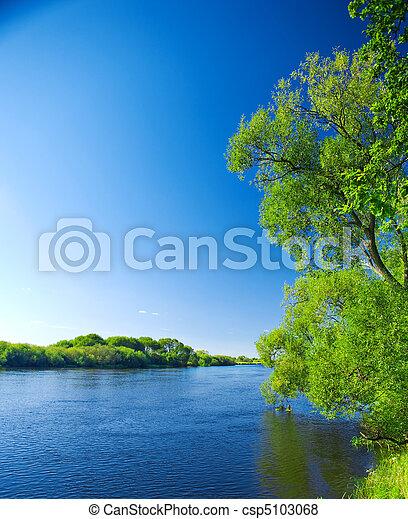 rios, natureza - csp5103068