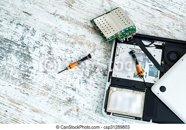 riparazione, laptop - csp31289803
