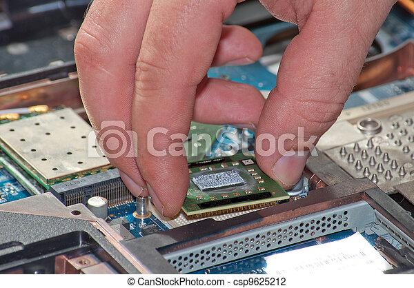 riparazione, laptop - csp9625212