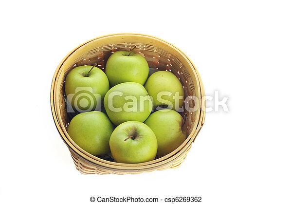 Ripe apples - csp6269362