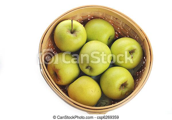 Ripe apples - csp6269359