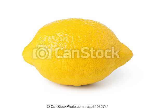 ripe lemon fruit - csp54032741