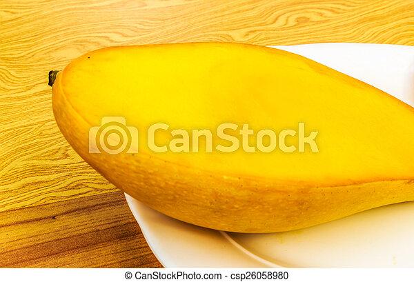 ripe mangoes - csp26058980
