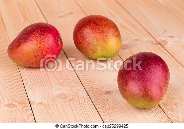 ripe mangoes - csp25299425