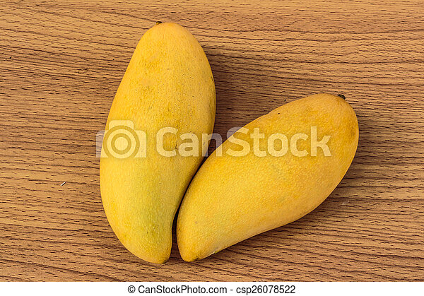 ripe mangoes - csp26078522