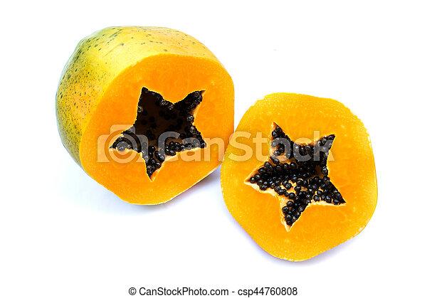 Ripe papaya - csp44760808
