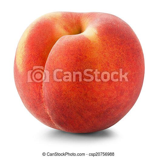 Ripe peach - csp20756988